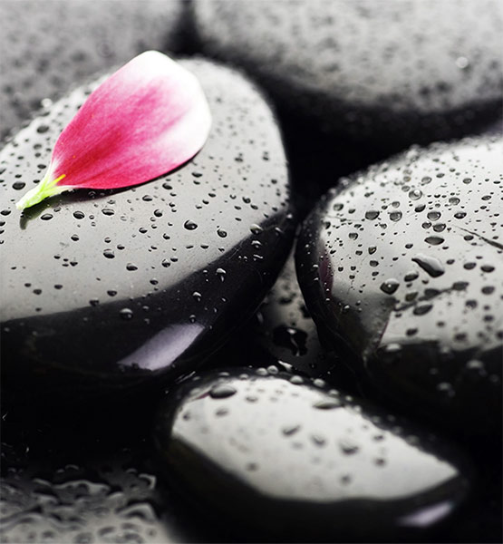 COMPLIMENTARY SPA ENHANCEMENTS   stones image